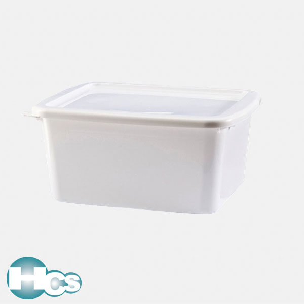 VITLAB Bowl with lid, Polypropylene