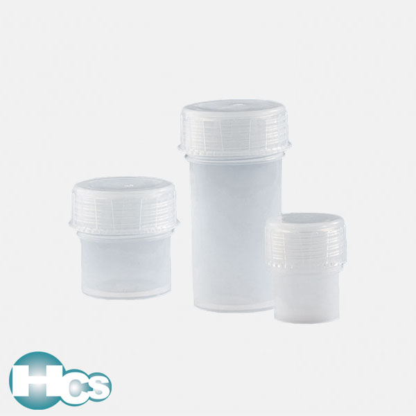 VITLAB PFA Sample Containers