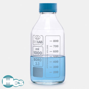 Isolab ISO Clear Glass Borosilicate Bottle