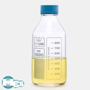 Isolab ISO Clear Glass Bottle, Neutral Glass