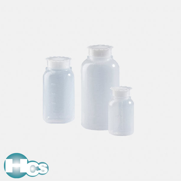 VITLAB PE-LD Wide mouth bottles with eye closure