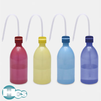 Isolab Multi color narrow neck wash bottle