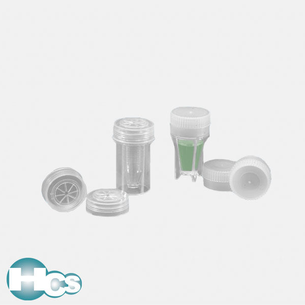 Kartell PE Sample Cup stoppers