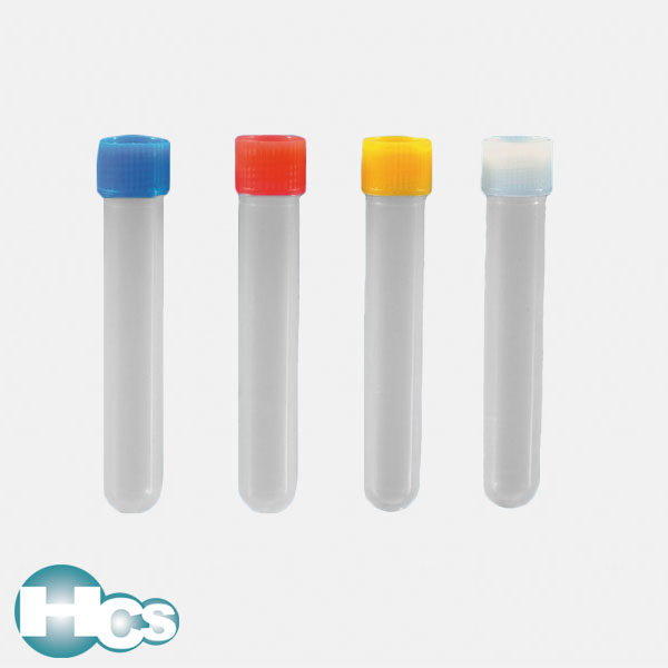 Kartell PP Test Tubes with screw caps